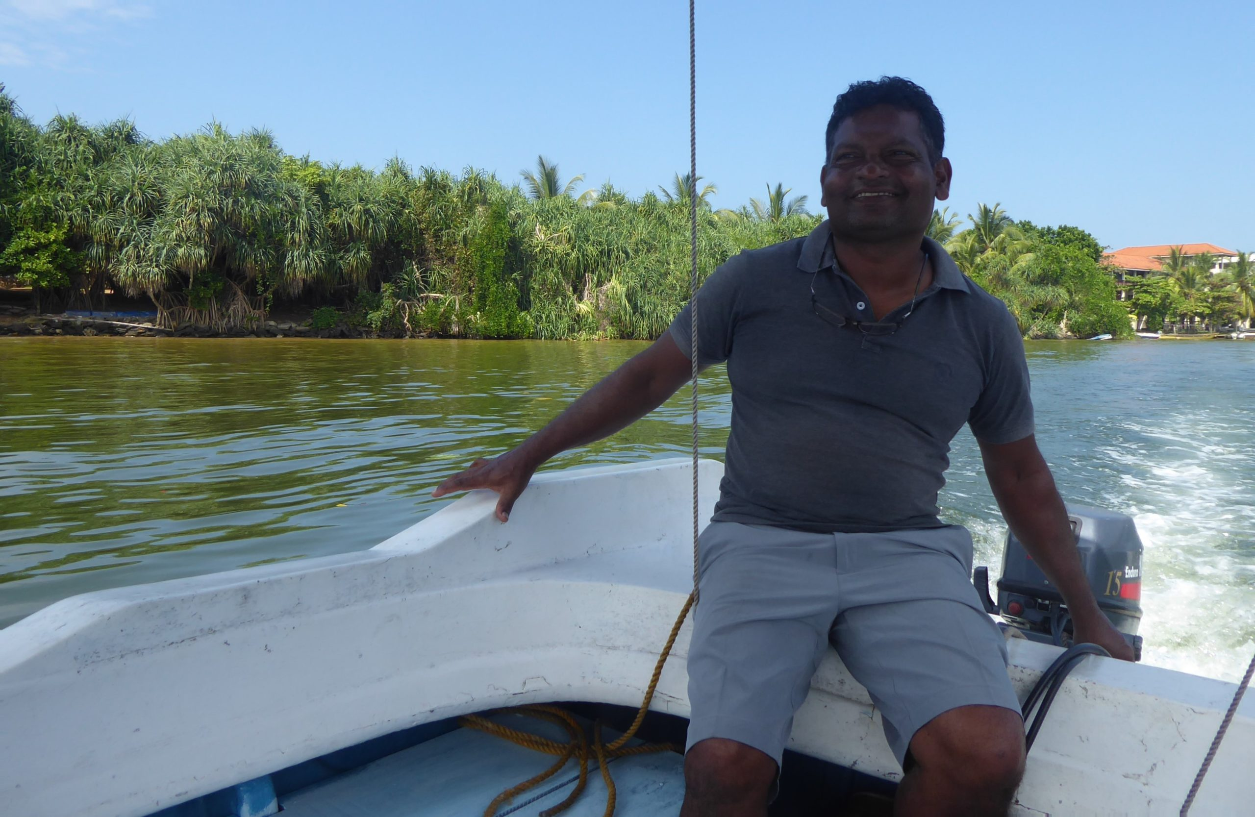 Nishan the boatman